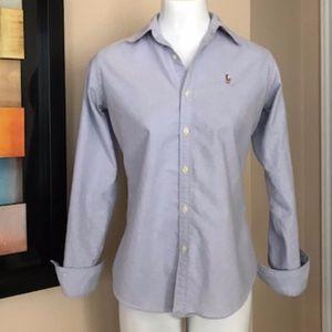 🌺👗💋Ralph Lauren Button Down Shirt Size 4